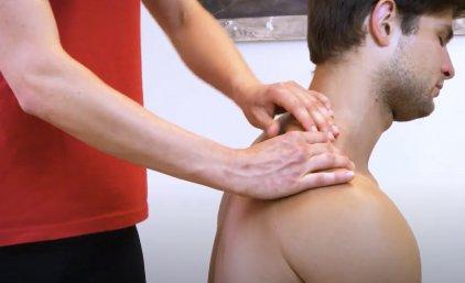 Partnermassage 😊: Für den Nacken