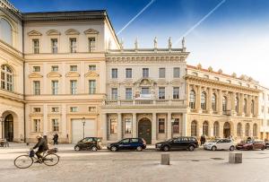 Neben dem Palais Barberini