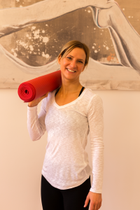 Yoga-Lehrerin Anika Haselhof